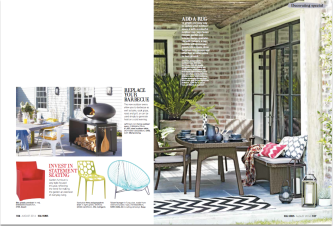 Outdoor Living Real Homes August 2014