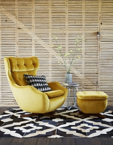 Parker Knoll_Statesman Chair and Footstool_