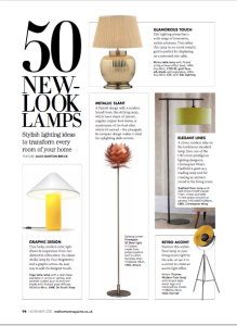 REAL HOMES NOVEMBER 2015 LAMPS 1