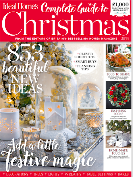 Ideal Home's Complete Guide to Christmas 2015 magazine
